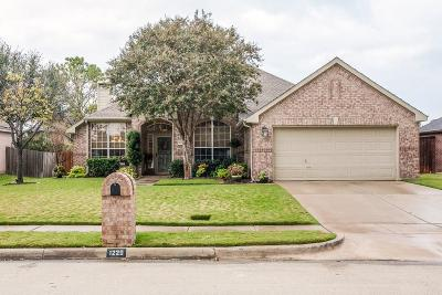 Flower Mound Single Family Home Active Option Contract: 1220 Old Oak Trail