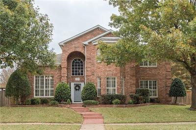 Allen Single Family Home Active Option Contract: 1001 Aylesbury Drive