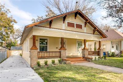 Dallas Single Family Home For Sale: 408 S Waverly Drive