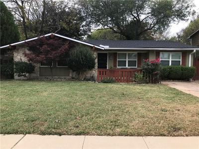 Richardson Single Family Home For Sale: 437 Salem Drive