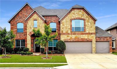 Fort Worth Single Family Home Active Option Contract: 5316 Royal Lytham Road