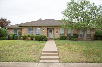 Richardson Single Family Home Active Option Contract: 2428 Valley Forge