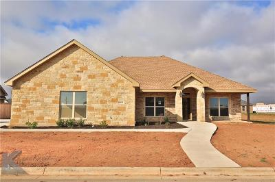 Abilene Single Family Home For Sale: 6618 Tradition Drive