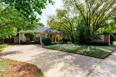 Grapevine Single Family Home Active Option Contract: 2625 Abercorn Drive