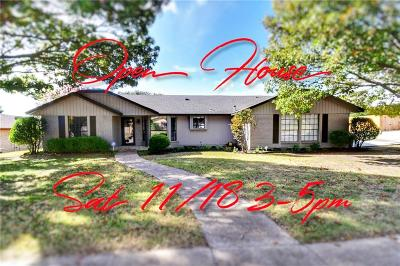 Benbrook Single Family Home Active Option Contract: 325 Pebblestone Drive