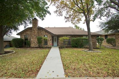 Dallas County, Denton County Single Family Home Active Option Contract: 1613 Saint James Drive