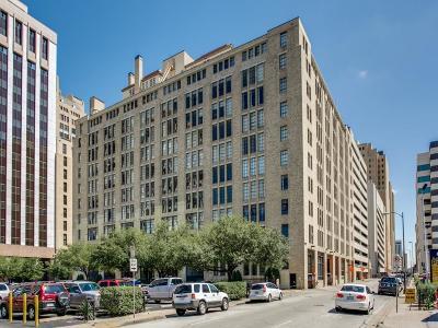 Dallas Condo For Sale: 1122 Jackson Street #209