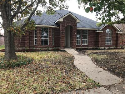 Mesquite Single Family Home For Sale: 2440 Homestead Drive