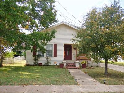 Eastland County Single Family Home Active Option Contract: 907 S Seaman Street