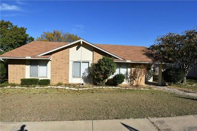 Carrollton Single Family Home For Sale: 2127 Placid Drive