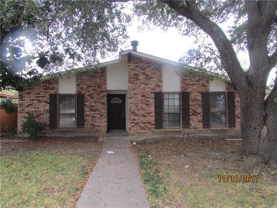 Garland Residential Lease For Lease: 3822 Acorn Green Drive