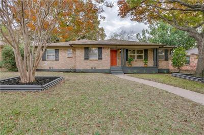 Dallas Single Family Home For Sale: 3340 Sharpview Lane