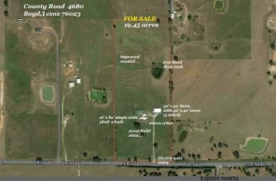 Boyd Farm & Ranch For Sale: 3013 County Road 4680