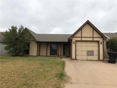 Abilene Single Family Home Active Option Contract: 23 Shady Brook Circle