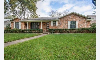 Dallas Single Family Home For Sale: 11021 Scotsmeadow Drive