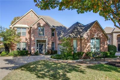 Coppell Single Family Home Active Option Contract: 1048 Basilwood Drive