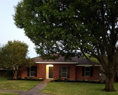 Rowlett Single Family Home Active Option Contract: 2812 Rice Drive