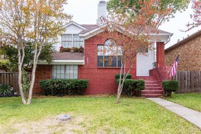 Carrollton Single Family Home For Sale: 1619 Kingspoint Drive