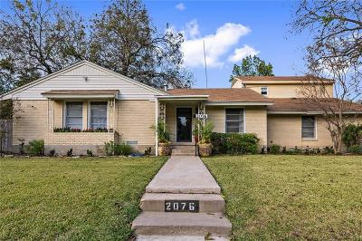 Garland Single Family Home For Sale: 2076 Sherwood Drive