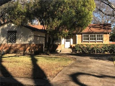 Richardson Single Family Home For Sale: 1212 Holly Drive