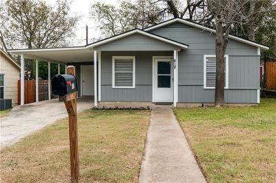 White Settlement Single Family Home For Sale: 412 Donald Street