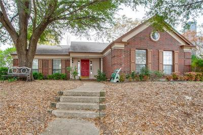 Mesquite Single Family Home Active Option Contract: 1408 Huntington Drive