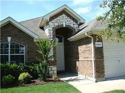 Grand Prairie Single Family Home For Sale: 1244 Lake Forest Drive