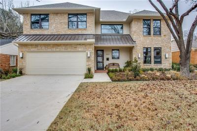 Dallas Single Family Home For Sale: 4009 Park Lane