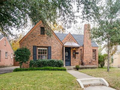 Fort Worth Single Family Home For Sale: 2618 Willing Avenue