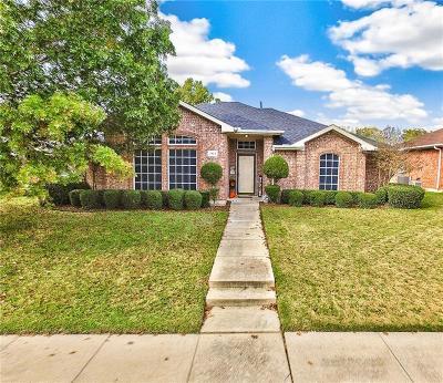 Mesquite Single Family Home Active Option Contract: 2513 Daniel Creek