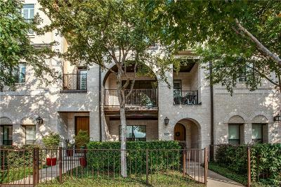 Dallas Townhouse For Sale: 3821 Cole Avenue