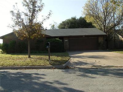 Abilene Single Family Home For Sale: 602 Harwell Street