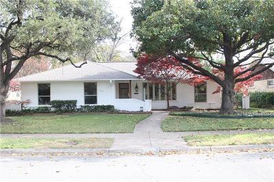 Dallas Single Family Home For Sale: 6936 Sperry Street