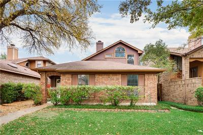 Mesquite Single Family Home Active Option Contract: 1718 Cordova Drive