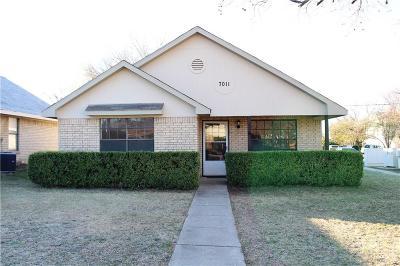 Frisco Single Family Home For Sale: 7011 Walnut Street
