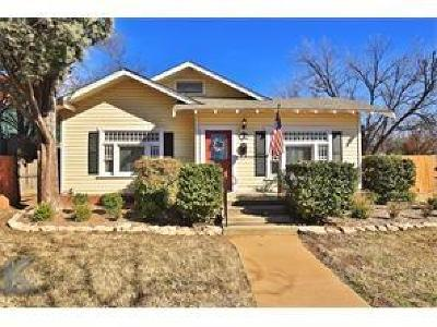 Abilene Single Family Home For Sale: 941 Grand Avenue