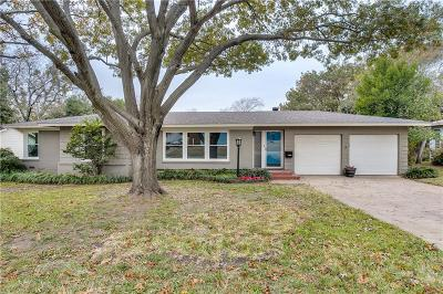 Fort Worth Single Family Home For Sale: 3916 Piedmont Road