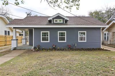 Dallas Single Family Home For Sale: 224 W Clarendon Drive