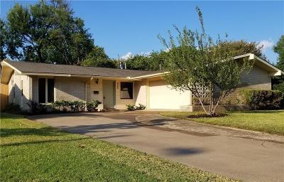Dallas Single Family Home For Sale: 3453 High Mesa Drive