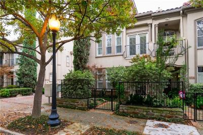 Dallas Townhouse For Sale: 3817 Travis Street