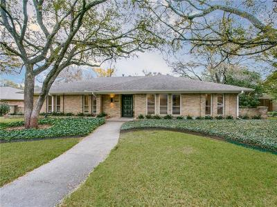 Dallas Single Family Home For Sale: 4836 Harvest Hill Road