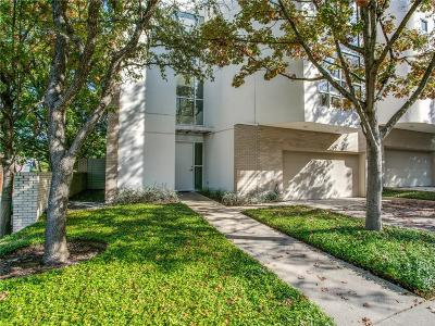 Dallas, Fort Worth Townhouse For Sale: 3311 Miro Place
