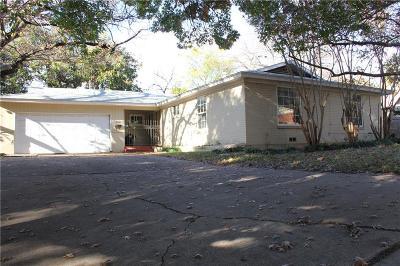 Dallas, Fort Worth Single Family Home For Sale: 3500 Creston Avenue