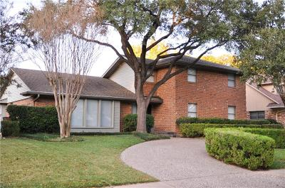 Dallas Single Family Home For Sale: 10029 Edgecove Drive