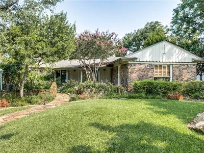 Dallas, Addison Single Family Home For Sale: 5011 Horseshoe Trail