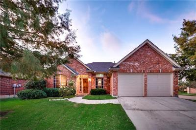 Grand Prairie Single Family Home Active Option Contract: 2544 Bayside Drive