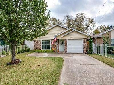 Dallas Single Family Home Active Option Contract: 4316 Sycamore Street
