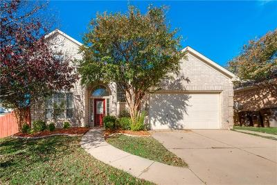 Fort Worth Single Family Home For Sale: 8628 Garden Springs Drive