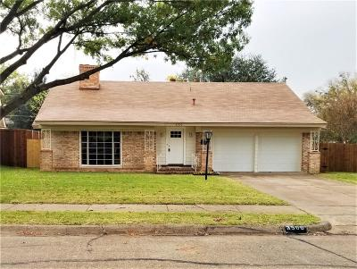 Irving Single Family Home For Sale: 3500 W Bangor Court
