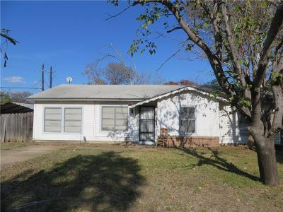 Arlington TX Single Family Home For Sale: $180,000